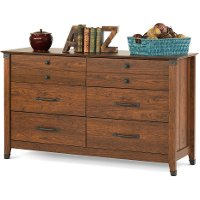 F0280906 Cherry Double Dresser - Redmond