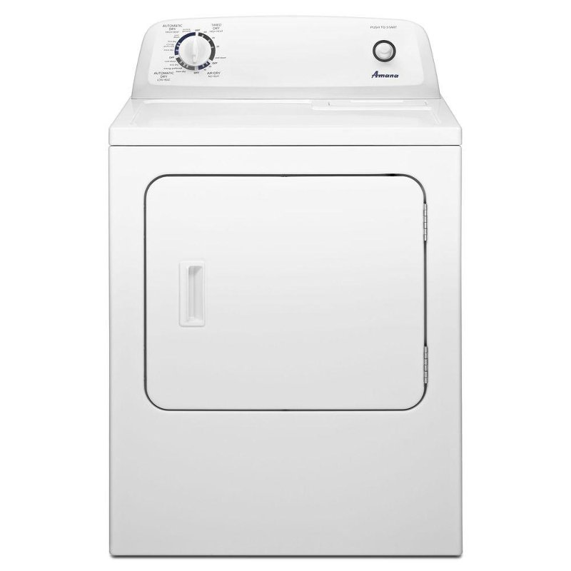 Amana Electric Dryer - 6.5 cu. ft. White