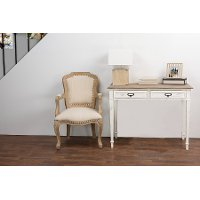 CHR4VMM-B-CA Traditional French Writing Desk - Dauphine