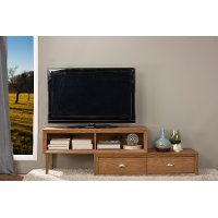 ML-1313-Walnut-TV Contemporary Walnut TV Stand - Bainbridge