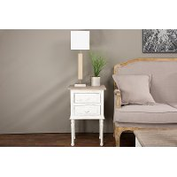 PLM4VMM-B-CA Traditional French Accent Nightstand - Anjou
