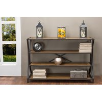YLX-0004-AT Brown Iron Console Table - Lancashire