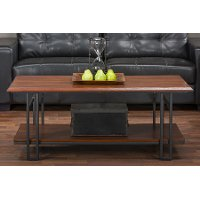 YLX-2646-CT Antique Bronze Coffee Table - Newcastle