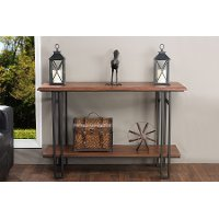 YLX-2646-ST Antique Bronze Console Table - Newcastle