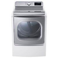 DLEX7700WE LG 9.0 cu. ft. Electric Dryer - White