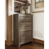 Rustic Modern Driftwood Brown Chest of Drawers - Fairfax