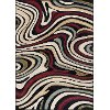 LGN4608 8x10 8 x 10 Large Red & Beige Area Rug - Laguna