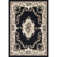 LGN46138x10 8 x 10 Large Charcoal Gray Area Rug - Laguna