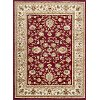 SNS4720 8x11 8 x 10 Large Red & Beige Area Rug - Sensation