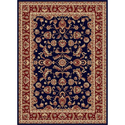 4797 Navy 8x11 8 X 11 Large Blue Red Gold Area