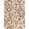 LGN5052 8x10 8 x 10 Large Ivory, Red, and Gold Area Rug - Laguna