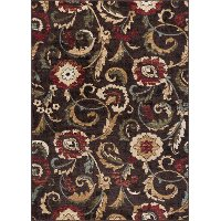 LGN5058 8x10 8 x 10 Large Brown, Gold, and Beige Area Rug - Laguna