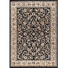 LGN50738x10 8 x 10 Large Black, Gold, and Ivory Area Rug - Laguna