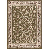 LGN5075 8x10 8 x 10 Large Green, Gold, and Ivory Area Rug - Laguna