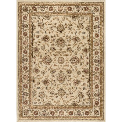 Elg5142 8x10 8 X 10 Large Beige And Red Area Rug Elegance