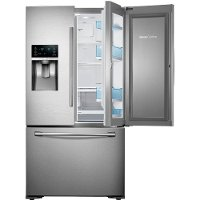 RF23HTEDBSR Samsung French Door Refrigerator - 36 Inch Stainless Steel Counter Depth