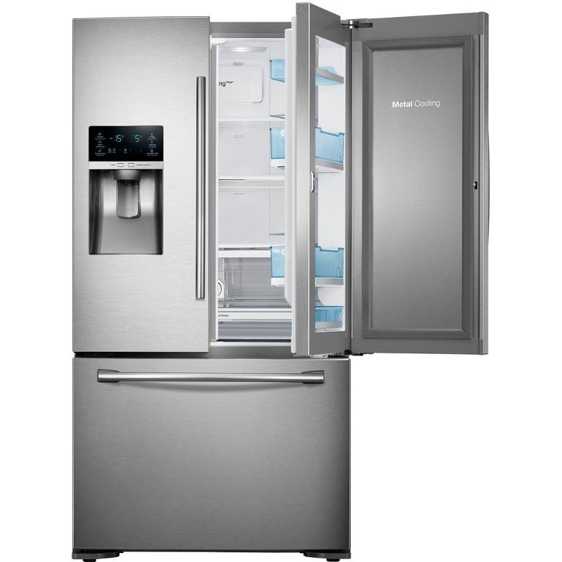 Samsung French Door Refrigerator 36 Inch Stainless Steel Counter