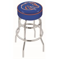 25 Inch Double Ring Counter Stool - Boise State