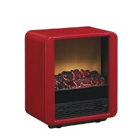 Portable Metal Heater - Red