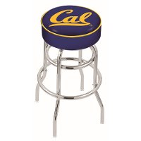 25 Inch Double Ring Swivel Counter Stool - Cal U