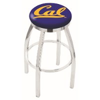 L8C2C25Cal-Un Chrome 25 Inch Counter Stool - Cal U