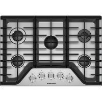 KCGS350ESS KitchenAid 30 Inch Gas Cooktop - Stainless Steel