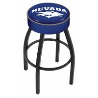 L8B125NevaUn Black 25 Inch Cushion Counter Stool - UNR