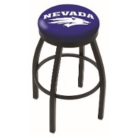 Black 25 Inch Swivel Counter Stool - UNR