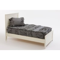 Beddy's Twin Modern Gray Ruffle Bedding Collection
