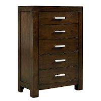 Couture Chocolate Brown Chest of Drawers