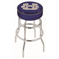 L7C125UtahSt USU 25 Inch Double Ring Counter Stool