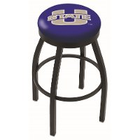 Black 30 Inch Swivel Bar Stool - USU
