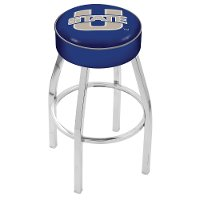 L8C125UtahSt Chrome 25 Inch Cushion Counter Stool - USU