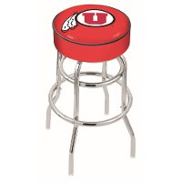 L7C130UtahUn U of U 30 Inch Double Ring Bar Stool