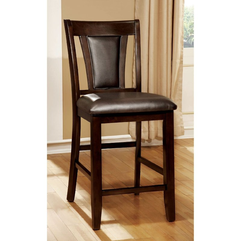 B Dark Cherry Traditional Counter Height Stool Rc Willey Furniture