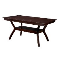 Dark Cherry Dining Table - Brent