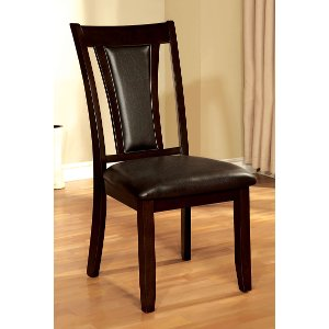 ... Dark Cherry Traditional Dining Room Chair   Brent Collection