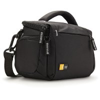 TBC-405-BLACK Case Logic Compact System/Hybrid/Camcorder Kit Bag