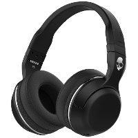 S6HBGY-374,BLK,BT Skullcandy Hesh 2.0 Wireless Headphones - Black