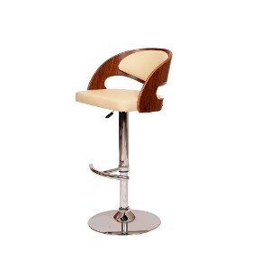 ... Malibu Cream u0026 Chrome Swivel Adjustable Bar Stool ...  sc 1 st  RC Willey & Get your adjustable bar stools at RC Willey islam-shia.org