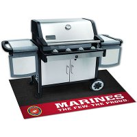 15713 2 x 4 X-Small US Marines Grill Mat