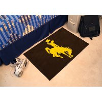 1582 2 x 3 X-Small University of Wyoming Area Rug