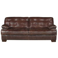 Contemporary Brown Leather Match Contemporary Sofa Amarillo Rc Willey Furniture Store