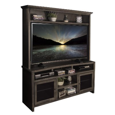 2 Piece 68 Inch TV Stand and Hutch RC Willey Furniture Store