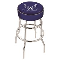 L7C125AirFor 25 Inch Double Ring Counter Stool - US Air Force