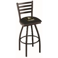 L01425Army 25 Inch Ladder Counter Stool - US Army