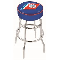 25 Inch Double Ring Swivel Counter Stool - US Coast Guard