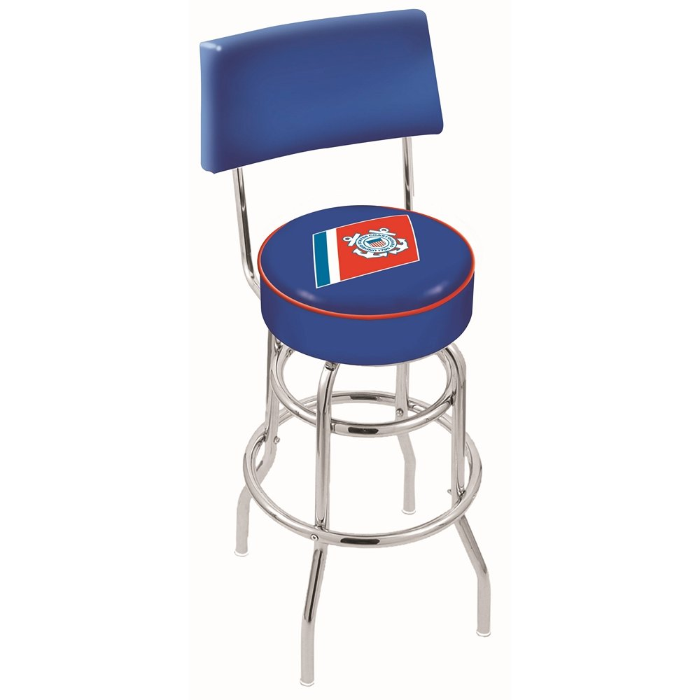 25 inch back rest counter stool   us coast guard  rcwilley image1~800