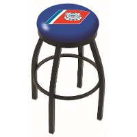 Black 25 Inch Swivel Counter Stool - US Coast Guard