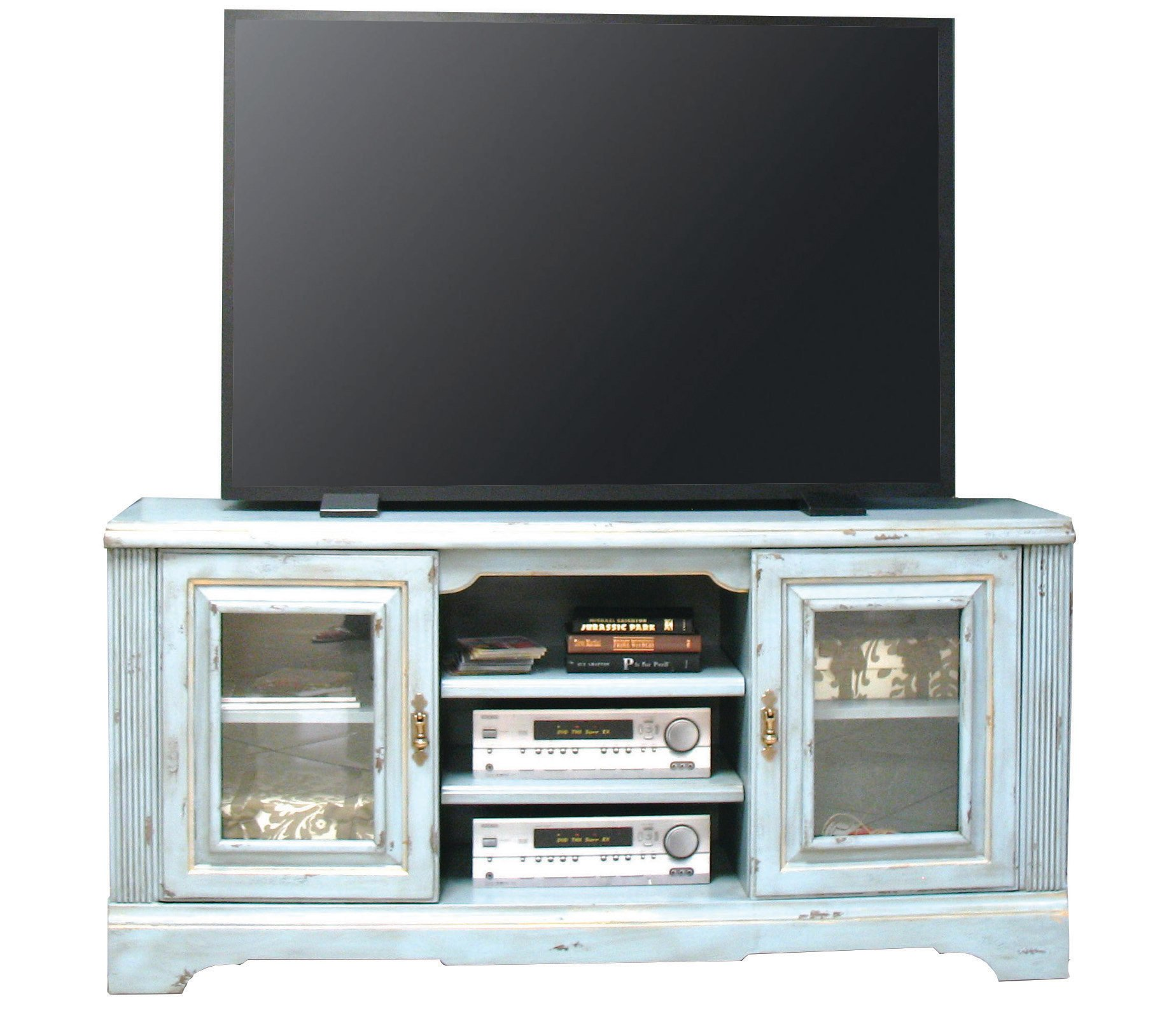 Rc Willey Boise Idaho: 5 Piece Slate Blue Entertainment Center - Legacy